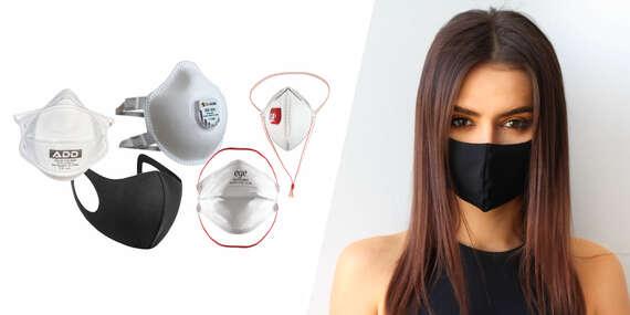 Respirátor FFP2, FFP3 a nano ochranná maska - okamžité odoslanie/Slovensko