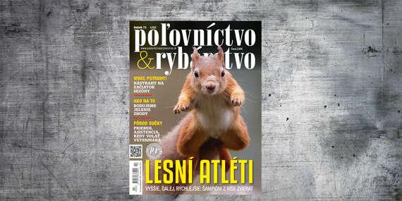 Ročné predplatné mesačníka POĽOVNÍCTVO A RYBÁRSTVO/Slovensko