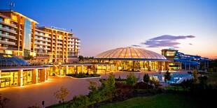 Hotel Aquaworld Resort Budapest**** je priamo prepojený s aquaparkom