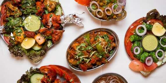 Poklady indické kuchyně na Praze 1. 40% sleva na cokoliv z jídelního lístku v restauraci Indian Jewel jen kousek od Staroměstského náměstí / Praha 1 - Staré Město