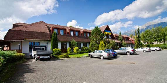 Dovolenka pod majestátnymi štítmi Tatier s polpenziou, saunou a 2 deťmi do 6 rokov v hoteli Autis***/Vysoké Tatry - Dolný Smokovec