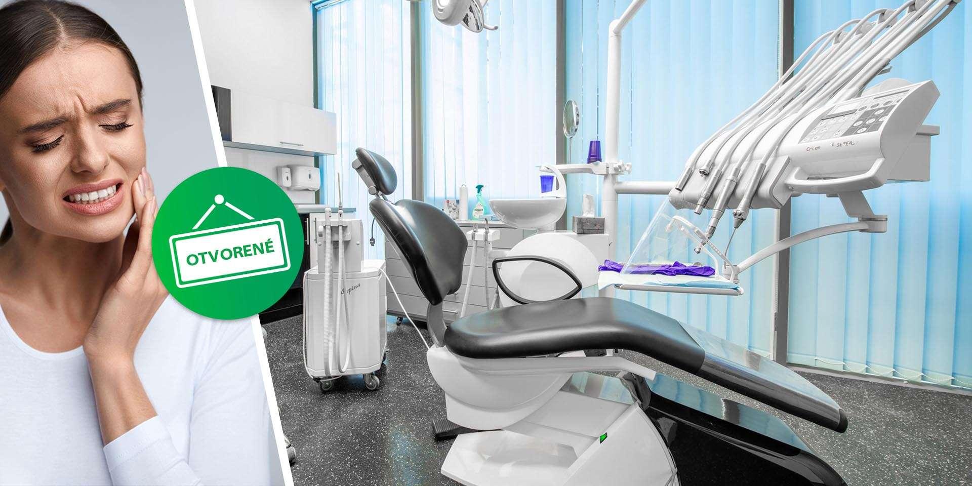 Zubná pohotovosť Vienna Dental Clinic – zľava 10 % na všetky úkony