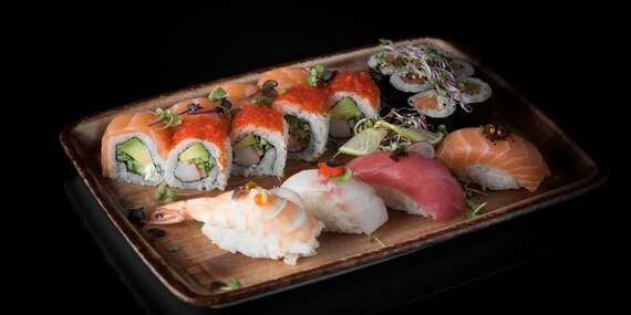 Sushi alebo Tom Yum v Sushinami/Prešov