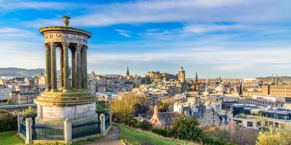 Po stopách legendy o Statočnom srdci s 4-dňovým leteckým zájazdom do Edinburghu / Edinburg - Veľká Británia