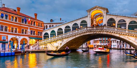 Bezstarostný pobyt v Benátkach v 4* hoteli s dieťaťom do 12 r. a odvozom z letiska zdarma/Taliansko - Quarto d´Altino