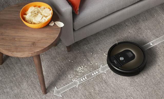 iRobot Roomba® 980 - pokročilejší robotický vysávač s vlastnou aplikáciou