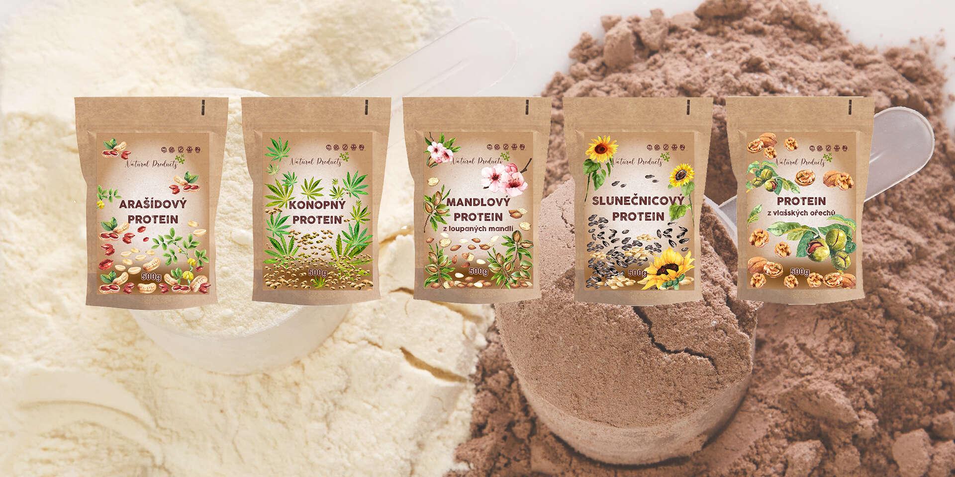 Výborné rastlinné proteíny v RAW kvalite bez pridaných konzervantov a sladidiel