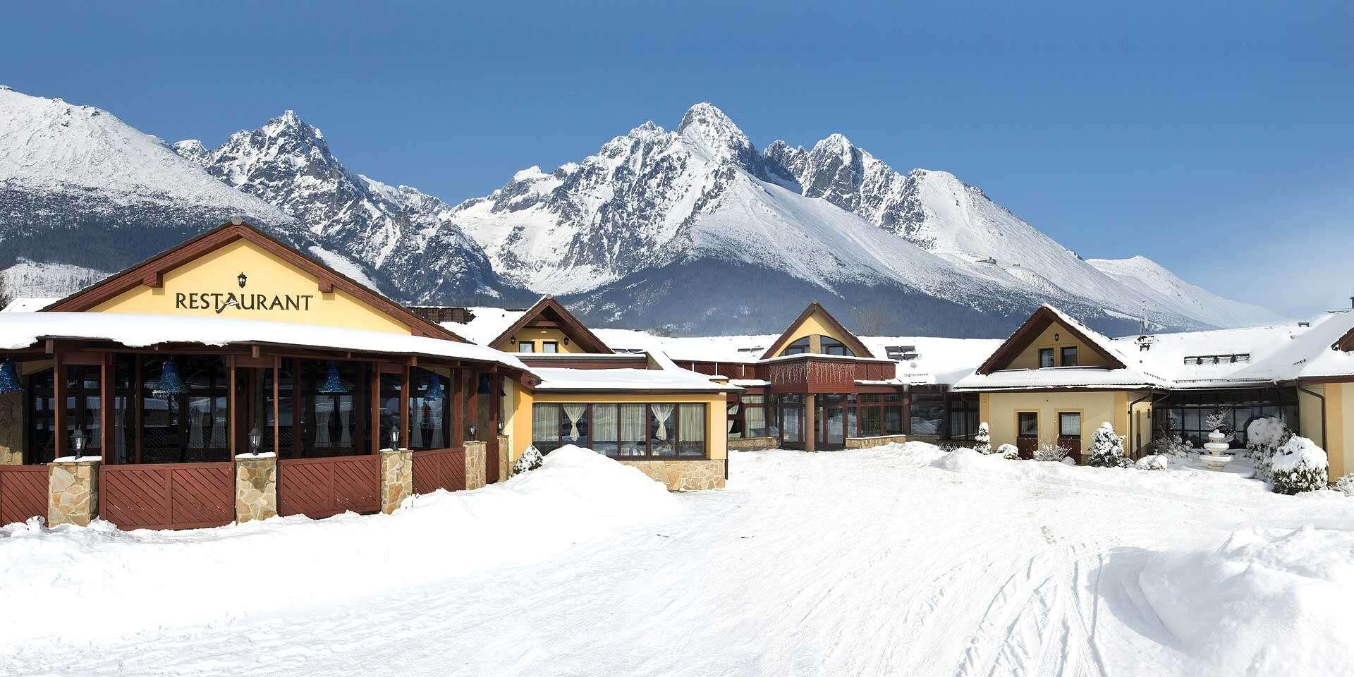 Nový rok, zima a jar s wellness v hoteli Amalia***+ v srdci Vysokých Tatier kúsok od zastávky TEŽ