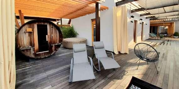 Ubytovanie v súkromí v Bojniciach so súkromnou saunou, vírivkou a fľašou Prosecca / Bojnice