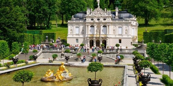 Rozprávkové bavorské zámky a príbeh kráľa Ludwiga II./Nemecko – Bavorsko