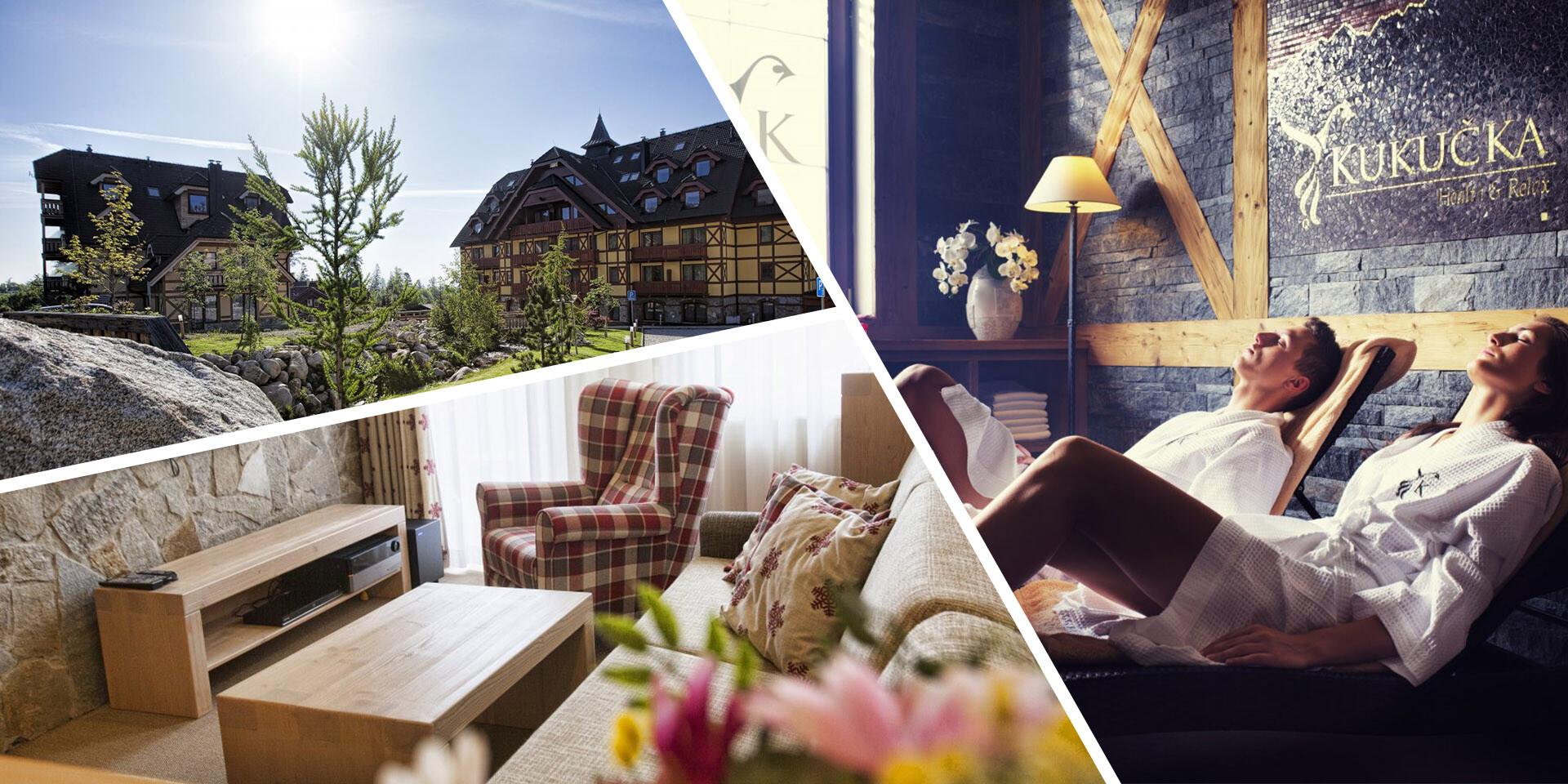Rodinná dovolenka s wellness v apartmánoch priamo pod Tatrami v Hoteli Kukučka****