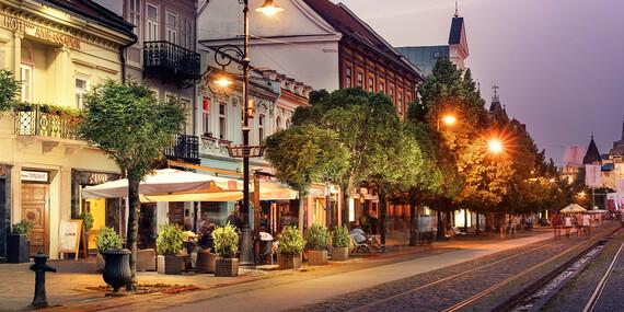 Gurmánska 4-chodová večera a 2,5 hodinový wellness v hoteli Ambassador**** priamo v centre Košíc/Košice - Staré Mesto