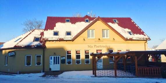 Ráj v jižních Čechách s ubytováním v oblíbeném Penzionu Na Pastoušce se snídaní, lahví vína, vyhlášenou kuchyní i dětmi do 5 let zdarma / Malšice - jižní Čechy