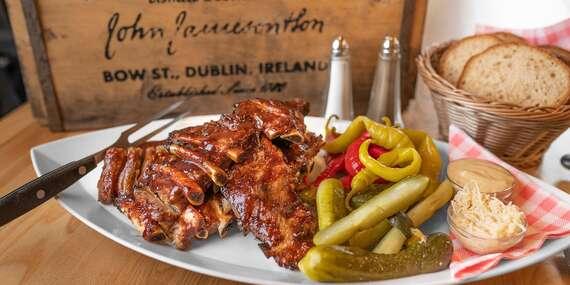 Najlepšie pochúťky k pivu – pečené rebrá, krídla a rezne + Kofola alebo pivný špeciál v Beer Arene / Bratislava – Staré Mesto