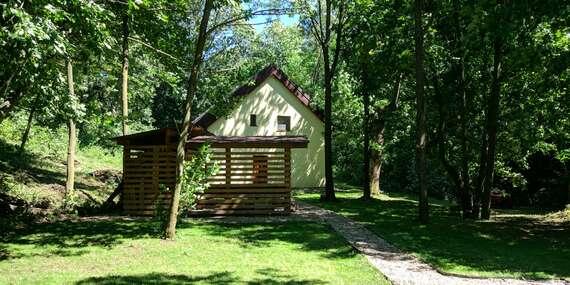 Zrekonštruovaná chata uprostred lesa pre 12 osôb v krásnom prostredí Štiavnických Baní/Štiavnické Bane