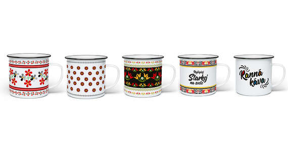 Kolekcia plechových hrnčekov s motívmi pre celú rodinu s osobným odberom až v 39 predajniach FaxCOPY zdarma/Slovensko