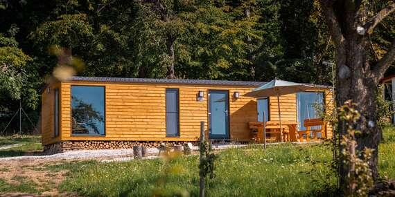 Mobilné domčeky v prírode na okraji lesa s raňajkami (pre dvojice aj rodiny)/Bojnice – časť Hlboké