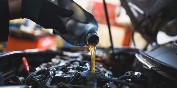 Výmena oleja a olejového filtra s materiálom a servisná prehliadka/Bratislava – Žabí Majer