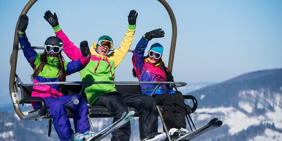 Celodenný skipas, bobová dráha alebo požičanie výstroja v Snowparadise Veľká Rača Oščadnica / Veľká Rača - Oščadnica