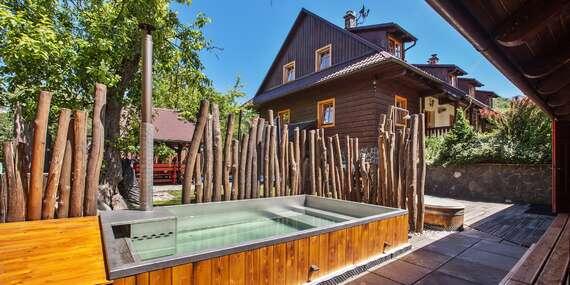Dokonalý relax v Mýte pod Ďumbierom v komfortných apartmánoch a s privátnym wellness pod holým nebom, ideálne miesto pre rodiny/Mýto pod Ďumbierom - Nízke Tatry