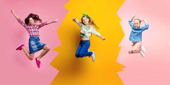 Jumping pre deti v Sunflower Studio pre rok 2020/Bratislava – Dúbravka, Petržalka, Rača, Ružinov