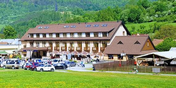 Týždeň v Terchovej v hoteli Gold*** pod sochou Jánošíka s raňajkami a zľavami/Terchová