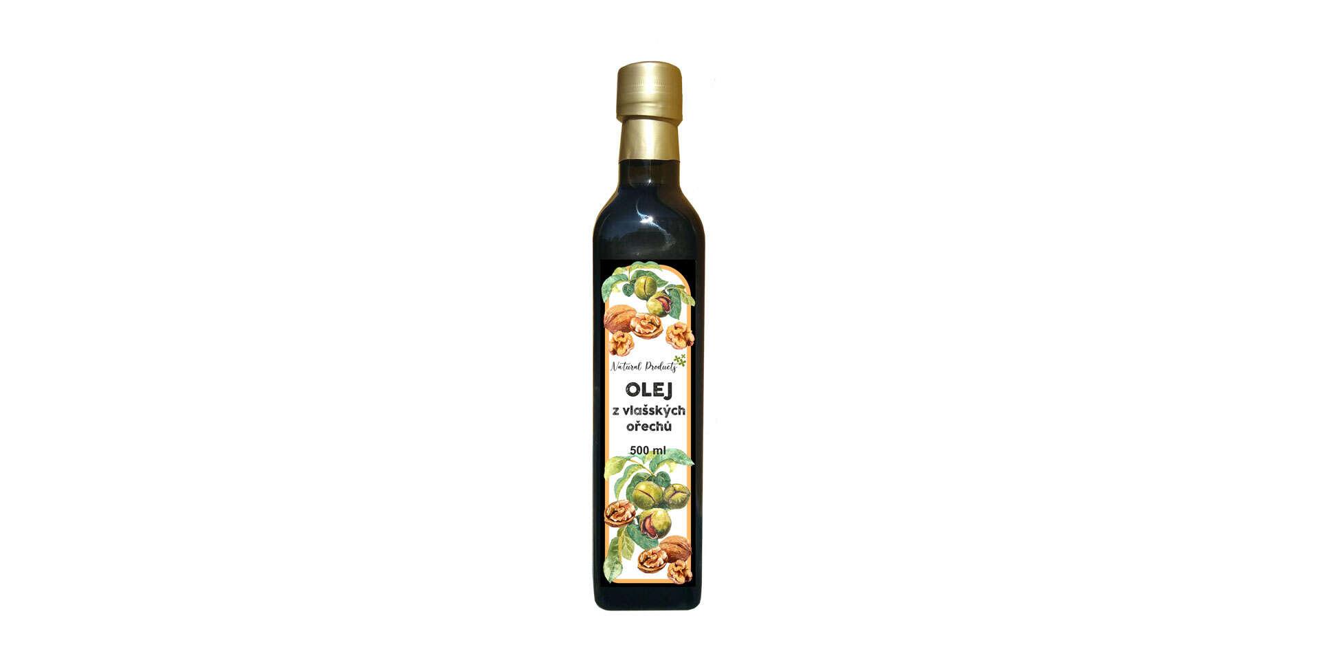 Oleje vyrobené v Čechách - makový, mandľový, tekvicový, sezamo...