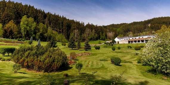 Neomezené wellness a golf v luxusním 4* Cihelny Golf & Wellness Resort s polopenzí i masáží u Karlových Varů / Karlovy Vary