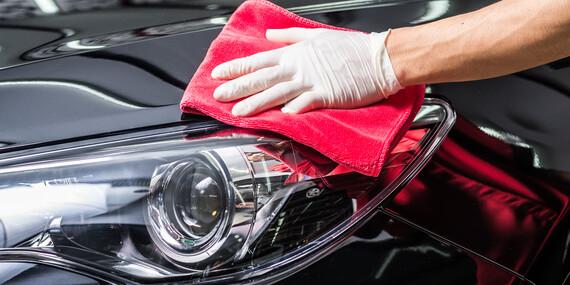 Kompletné čistenie vozidla/Bratislava – Petržalka