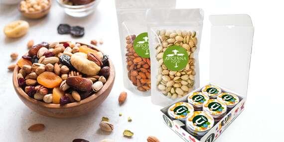 100% přírodníprodukty od OilSeed pro zdravý životní styl - tyčinky, disky, ořechy a suché plody/ČR
