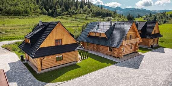 Idylka na Oravě pro celou velkou rodinu s ubytováním v chatkách Josu, bazénem a wellness / Orava - Zuberec