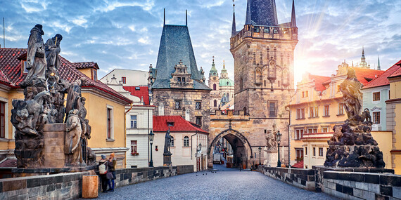 Praha s ubytovaním a raňajkami v štýlovom hoteli Theatrino**** / Praha - Žižkov