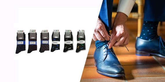 Luxusné talianske pánske ponožky/Slovensko