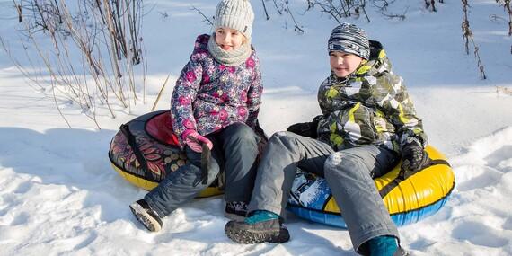 Kvalitné a bezpečné snežné nafukovacie klzáky pre deti aj dospelých/Slovensko