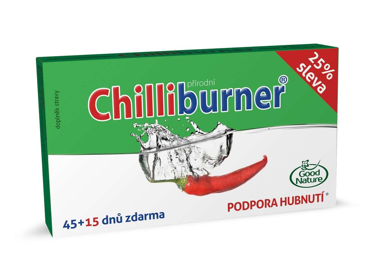 Chilliburner – prírodná podpora chudnutia s patentovanou technol