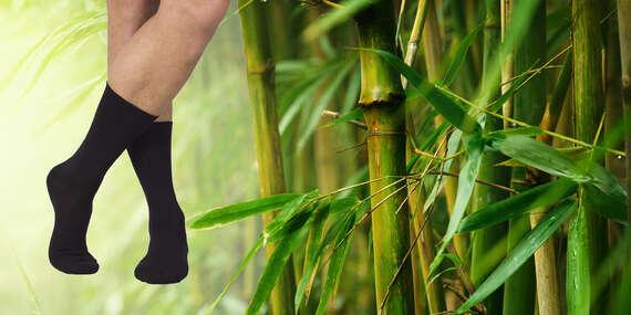 Ponožky z bambusového vlákna - krátke, členkové alebo antibakteriálne / Slovensko
