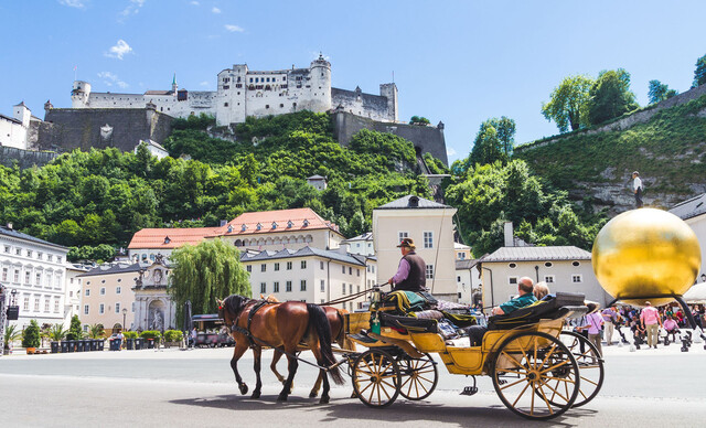 Veľkonočný Salzburg s plavbou po jazere Wolfgangsee