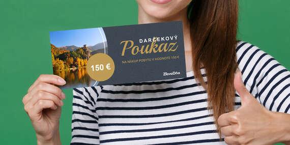 Darčekový poukaz ZľavaDňa na nákup pobytu/Celé Slovensko