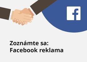 Zoznámte sa: Facebook reklama
