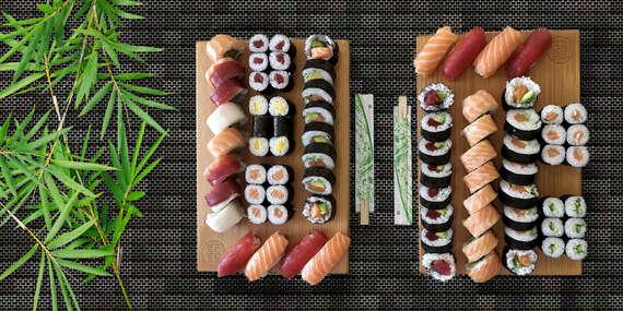 Veľký sushi set pre dvoch alebo celú rodinu z obľúbeného popradského Hoshi Sushi / Poprad a okolie