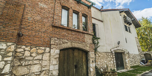 Pohľad na Villu Terrasse zvonku