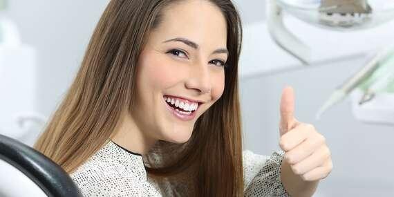 Udělejte si radost zářivým úsměvem - dentální hygiena s air-flow i bělením od profesionálů na Praze 3/Praha 3 - Žižkov