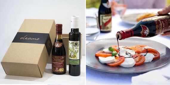 Darčekový box - extra panenský olivový olej San Felice a Aceto balsamico/Slovensko