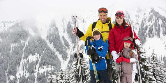 Rodinná lyžovačka na Chate Žiar v Rajeckej Lesnej so skipasom a dieťaťom do 10 rokov zdarma / Rajecká Lesná - Malá Fatra