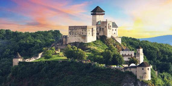Neobmedzený wellness pobyt priamo pod trenčianskym hradom v GRAND hoteli***+ Trenčín / Trenčín