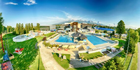 Relax v AquaCity Poprad nebo dobrodružství v panenské přírodě Slovenského ráje s výhledem na Tatry v Park Hotelu Čingov ***/Slovensko - Slovenský Ráj - Čingov - Hradisko