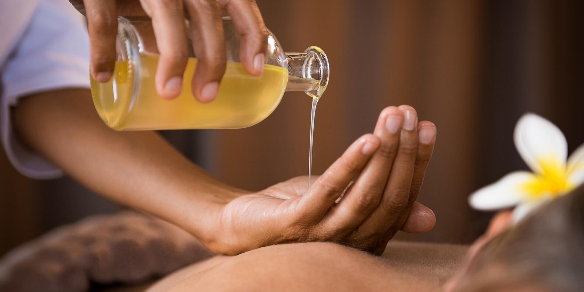 Špeciálne masáže s procedúrami