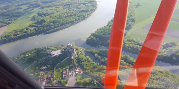 Zážitkový let smožnosťou pilotovania naskúšku/Bratislava