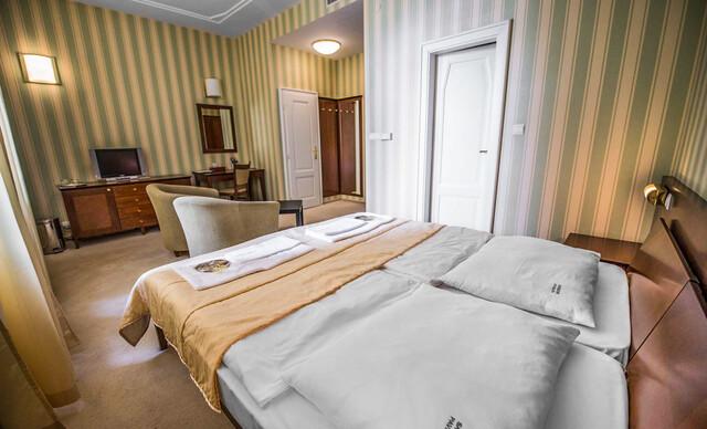 Relax a regenerácia s plnou penziou, wellness a procedúrami v hoteli Sandor Pavillon**** pre náročných