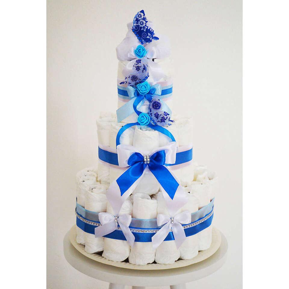 Plienkové torty pre malých drobcov a budúcich rodičov